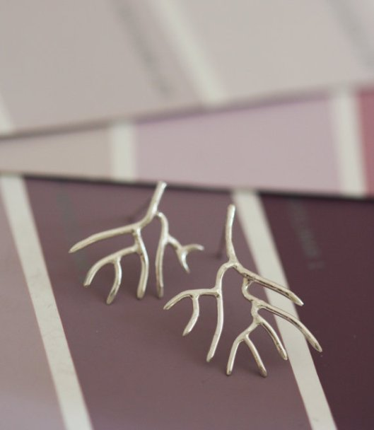 Twigs - Sterling Silver Studs