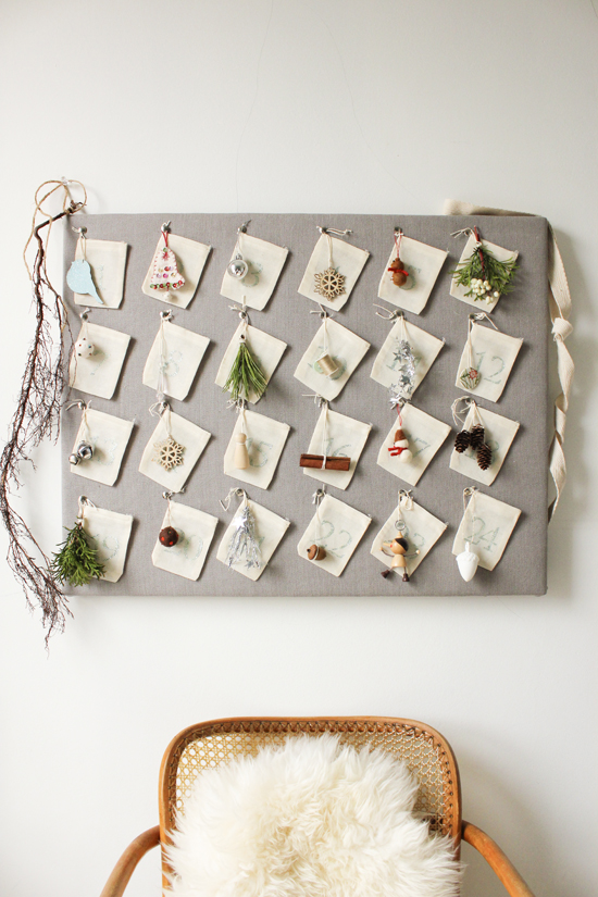 Home made christmas advent calendar diy craft