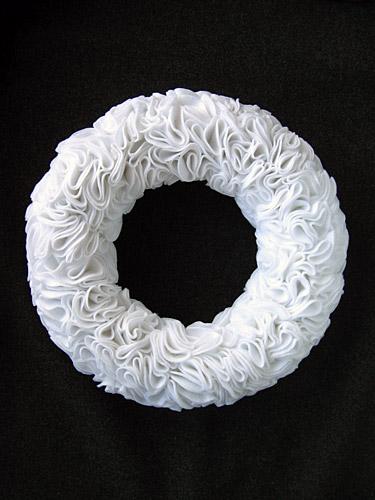 Felt Rosette Wreath DIY Handmade Christmas Craft