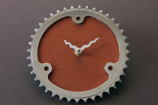 Vintage bicycle clock