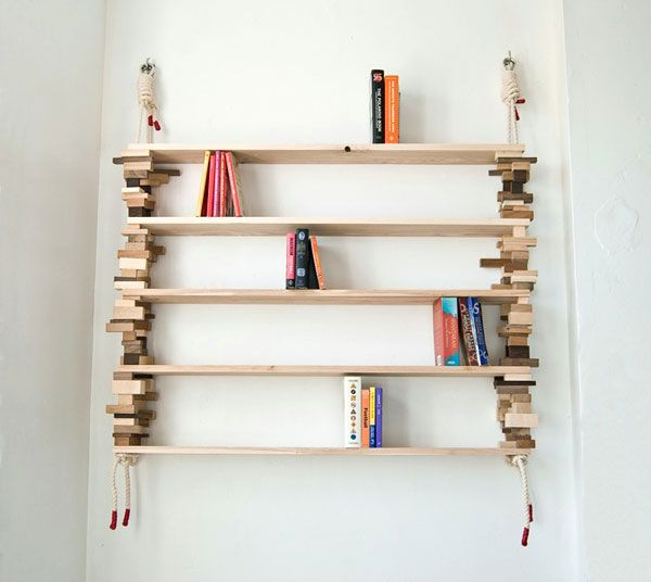Block and Rope Shelf