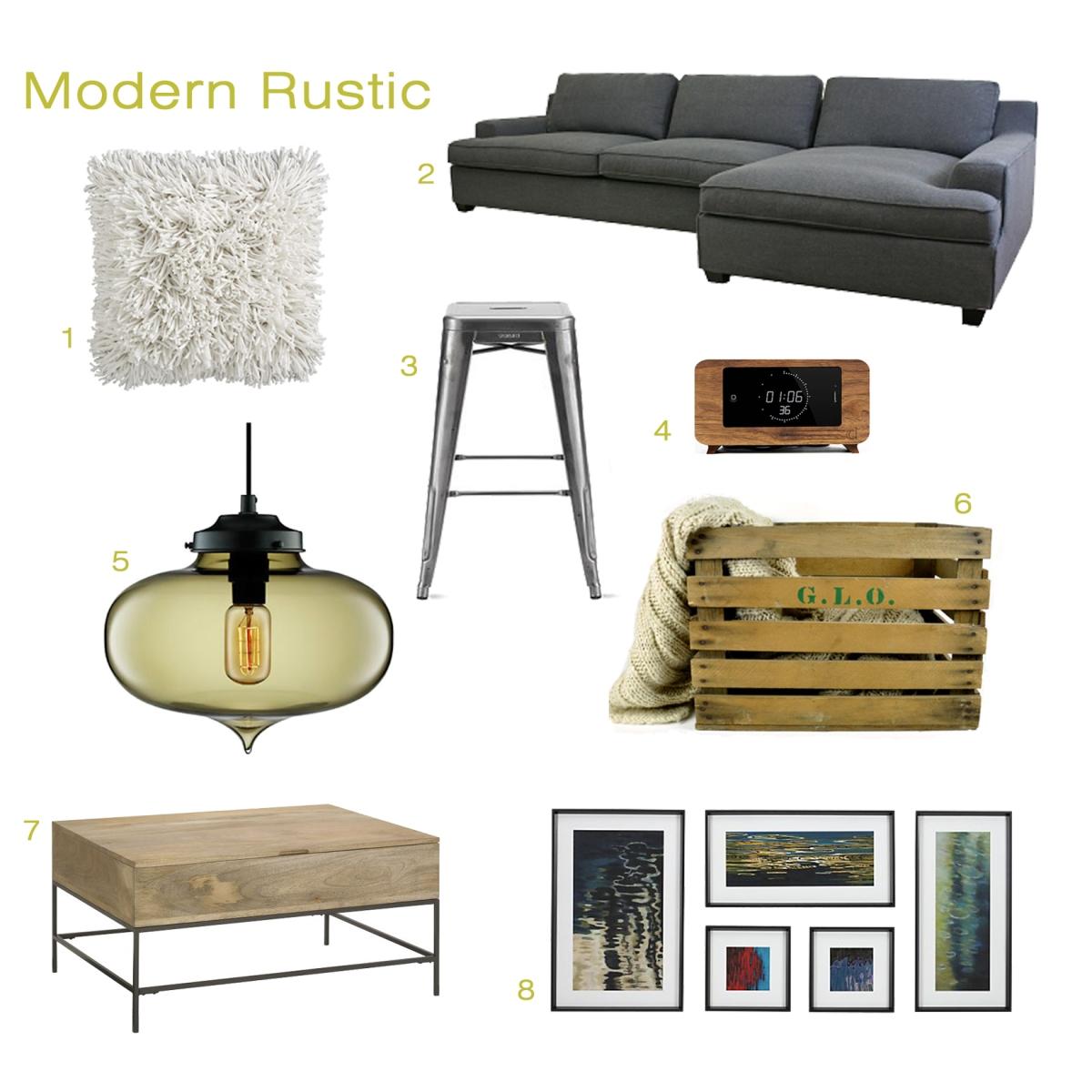 Modern Rustic Interior Design: Modern Rustic – Interior Design Inspiration